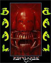 Box cover for Baal on the Commodore 64.