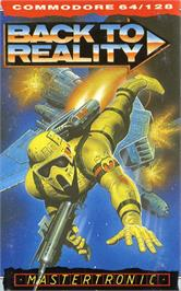 Box cover for Back to Reality on the Commodore 64.