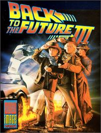 Box cover for Back to the Future Part III on the Commodore 64.