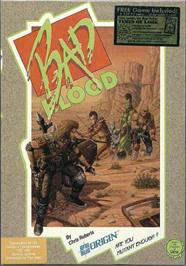 Box cover for Bad Blood on the Commodore 64.