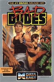 Box cover for Bad Dudes on the Commodore 64.