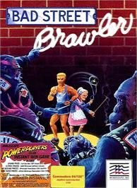 Box cover for Bad Street Brawler on the Commodore 64.