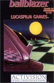 Box cover for Ballblazer on the Commodore 64.