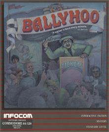 Box cover for Ballyhoo on the Commodore 64.