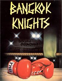 Box cover for Bangkok Knights on the Commodore 64.