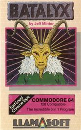 Box cover for Batalyx on the Commodore 64.