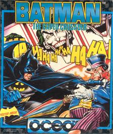 Box cover for Batman: The Caped Crusader on the Commodore 64.