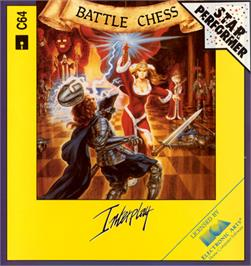 Box cover for Battle Chess on the Commodore 64.