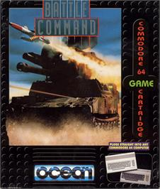 Box cover for Battle Command on the Commodore 64.