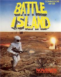 Box cover for Battle Island on the Commodore 64.