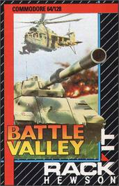 Box cover for Battle Valley on the Commodore 64.