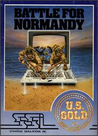 Box cover for Battle for Normandy on the Commodore 64.