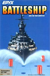 Box cover for Battleship on the Commodore 64.
