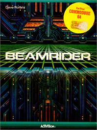 Box cover for Beamrider on the Commodore 64.