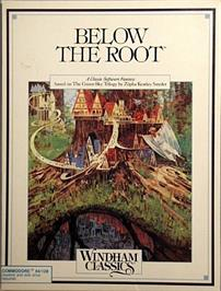 Box cover for Below the Root on the Commodore 64.