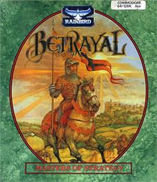 Box cover for Betrayal on the Commodore 64.