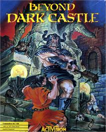 Box cover for Beyond Dark Castle on the Commodore 64.