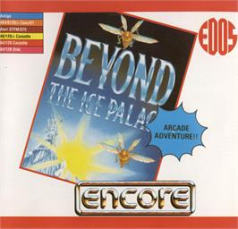 Box cover for Beyond the Ice Palace on the Commodore 64.