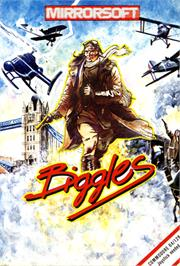Box cover for Biggles on the Commodore 64.
