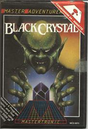 Box cover for Black Crystal on the Commodore 64.