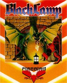 Box cover for Black Lamp on the Commodore 64.