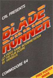 Box cover for Blade Runner on the Commodore 64.