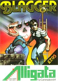Box cover for Blagger on the Commodore 64.