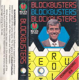Box cover for Blockbusters on the Commodore 64.