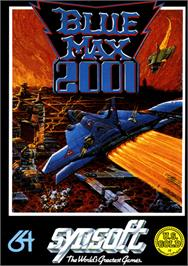 Box cover for Blue Max 2001 on the Commodore 64.