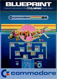 Box cover for Blue Print on the Commodore 64.