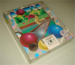 Box cover for Bocce on the Commodore 64.