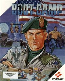 Box cover for Boot Camp on the Commodore 64.