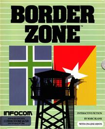 Box cover for Border Zone on the Commodore 64.