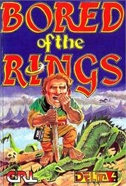 Box cover for Bored of the Rings on the Commodore 64.