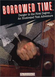 Box cover for Borrowed Time on the Commodore 64.