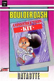 Box cover for Boulder Dash Construction Kit on the Commodore 64.