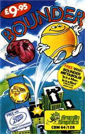 Box cover for Bounder on the Commodore 64.