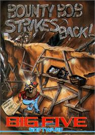 Box cover for Bounty Bob Strikes Back! on the Commodore 64.