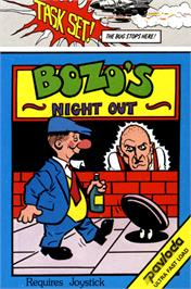 Box cover for Bozo's Night Out on the Commodore 64.