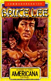 Box cover for Bruce Lee on the Commodore 64.