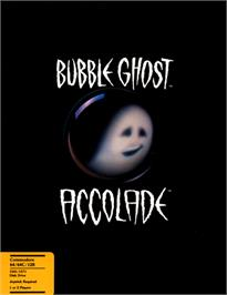 Box cover for Bubble Ghost on the Commodore 64.