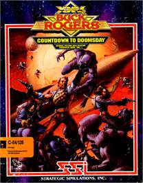 Box cover for Buck Rogers: Countdown to Doomsday on the Commodore 64.