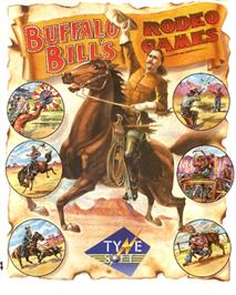 Box cover for Buffalo Bill's Wild West Show on the Commodore 64.