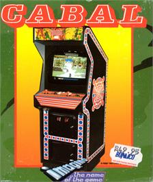 Box cover for Cabal on the Commodore 64.