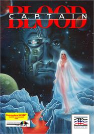 Box cover for Captain Blood on the Commodore 64.