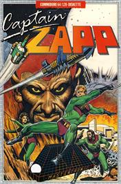 Box cover for Captain Zapp on the Commodore 64.