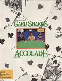 Box cover for Card Sharks on the Commodore 64.