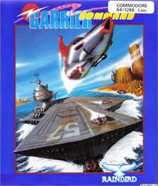 Box cover for Carrier Command on the Commodore 64.