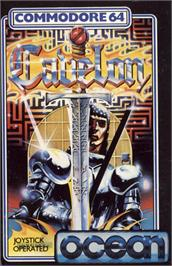 Box cover for Cavelon on the Commodore 64.