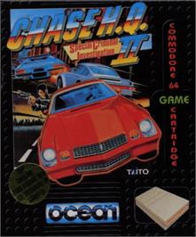 Box cover for Chase H.Q. II: Special Criminal Investigation on the Commodore 64.